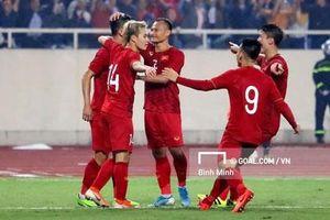 ĐT Việt Nam kết thúc năm 2019 với vị trí thứ 94 trên bảng xếp hạng FIFA
