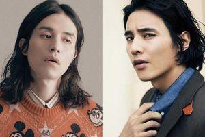Tranh cãi về mái tóc dài của Lee Dong Wook, Knet so sánh với Won Bin