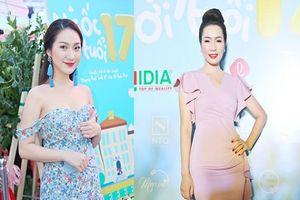 Cao Mỹ Kim, NSƯT Trịnh Kim Chi giản dị đi ủng hộ phim Việt