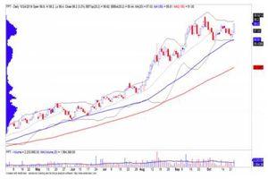 Đà điều chỉnh của cổ phiếu FPT đã dừng lại?
