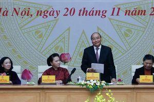 Thủ tướng Nguyễn Xuân Phúc: Lãnh đạo nữ luôn là những người tài, tâm huyết và tận tụy