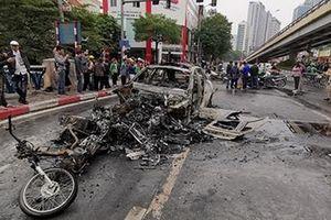 Danh tính nữ nạn nhân tử vong trong vụ xe Mercedes bốc cháy