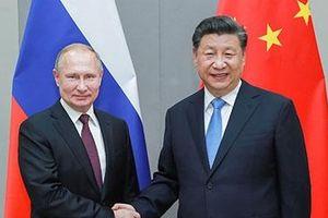 Trung Quốc và Nga cam kết nâng tầm quy mô hợp tác