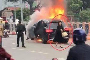 Tạm giữ nữ tài xế Mercedes tông chết người ở Hà Nội