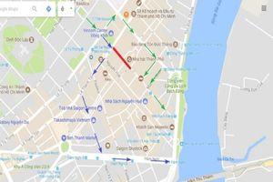 Cấm tất cả các phương tiện đi qua đường Đồng Khởi
