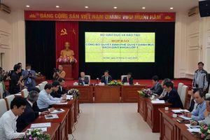 Công bố 32 SGK của 8 môn học, hoạt động giáo dục lớp 1