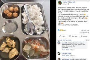 Hà Nội: Ủy ban phường xác minh chất lượng bữa ăn bán trú tại Trường TH Đức Thắng