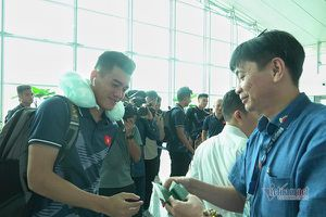U22 Việt Nam rạng rỡ lên đường săn Vàng SEA Games 30