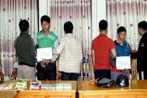 Lào Cai bắt giữ 2 đối tượng, thu giữ 2.963g ma túy các loại