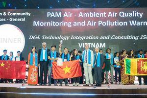 Việt Nam giành cúp tại Giải thưởng APICTA 2019