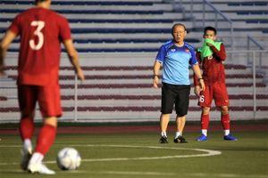 HLV Park nghiêm khắc với hàng tiền vệ U22 Việt Nam