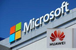 Microsoft được phép cung cấp phần mềm cho Huawei