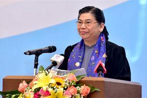Phó Chủ tịch Thường trực Quốc hội Tòng Thị Phóng dự Hội nghị về chính sách phát triển toàn diện trẻ em
