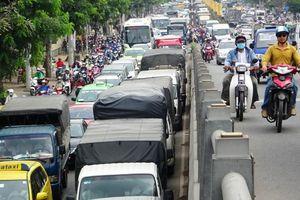 Cấm một loạt đường ở trung tâm Sài Gòn