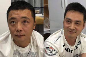 Bắt 5 người Trung Quốc bị truy nã đặc biệt