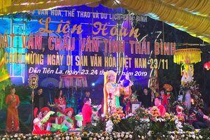 Liên hoan hát văn, chầu văn chào mừng Ngày Di sản Văn hóa Việt Nam