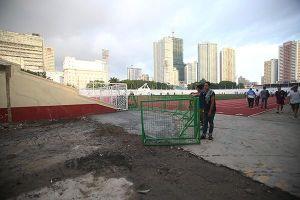 SVĐ Rizal Memorial 'chạy đua' cùng ngày khai mạc môn bóng đá