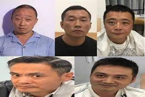 Bắt 5 đối tượng người Trung Quốc trốn lệnh truy nã