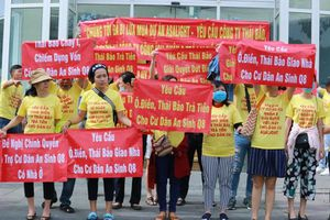 Khách hàng khốn khổ khi mua chung cư Asa Light của Công ty Thái Bảo