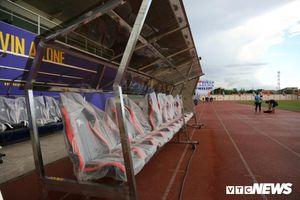 Philippines gấp rút hoàn thiện sân trước ngày U22 Việt Nam đá trận ra quân SEA Games 30