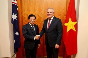 Phó Thủ tướng Trịnh Đình Dũng thăm làm việc tại Australia