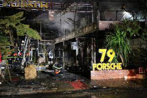 Đắk Lắk: Cháy nhà hàng trong đêm khách tháo chạy tán loạn