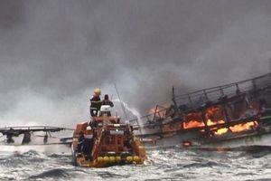 Thông tin mới nhất vụ 6 thuyền viên Việt mất tích ở Hàn Quốc