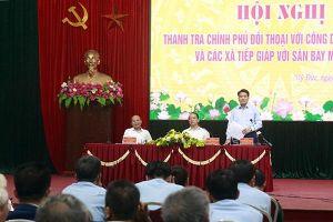 Thanh tra Chính phủ đối thoại với người dân ở Đồng Tâm