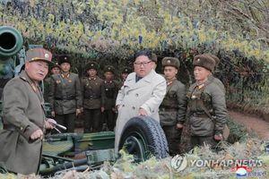 Triều Tiên tập bắn pháo gần biên giới với Hàn Quốc