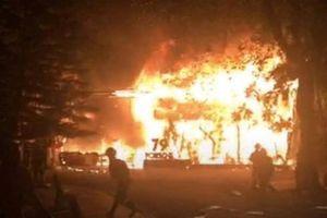 Đắk Lắk: Những hình ảnh mới nhất sau vụ cháy Bar Porsche