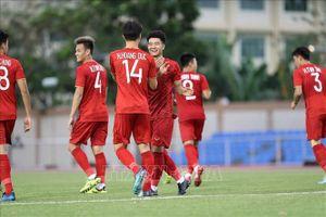 Hạ Brunei 6-0, U22 Việt Nam khởi đầu hoàn hảo