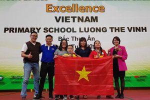Đoàn Việt Nam thắng lớn tại Ngày hội Robothon và Wecode quốc tế 2019