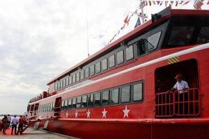 Bao giờ tàu Trưng Trắc chính thức chạy tuyến Cần Thơ - Trần Đề?