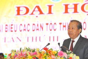 Phó Thủ tướng Trương Hòa Bình dự Đại hội các dân tộc thiểu số tỉnh Gia Lai