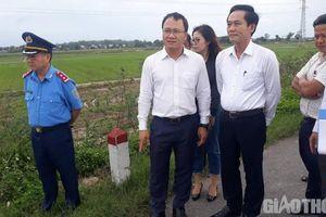 Khắc phục bất cập trên tuyến đường vừa xảy ra TNGT thảm khốc ở Quảng Ngãi