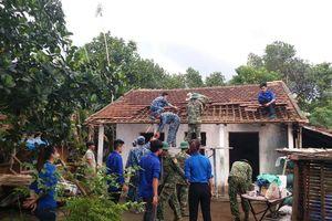 Quảng Nam: Sửa chữa nhà cho gia đình có hoàn cảnh khó khăn