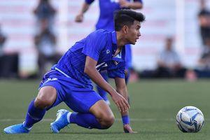 U22 Thái Lan thua 0-2 ở trận ra quân SEA Games 30