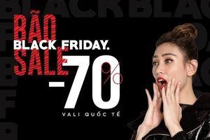 Chuỗi cửa hàng hành lý Lug đông nghẹt khách dịp Black Friday