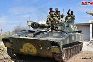 Quân đội Syria đại thắng ở chiến trường Idlib, khủng bố thua đau