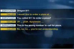 Mỹ: Cô gái được cứu sống nhờ nhanh trí gọi 911 đặt pizza