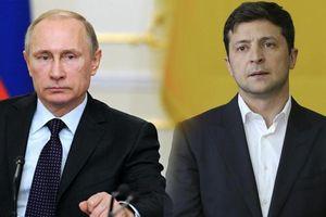 Tiếp xúc gần nhất của Tổng thống Ukraine với Tổng thống Nga Putin