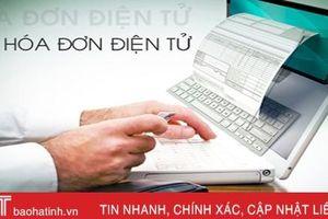 Nhanh chóng - tiết kiệm, doanh nghiệp Hà Tĩnh cần sớm 'bắt nhịp' hóa đơn điện tử