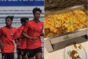 VĐV Singapore rơi vào cảnh bị bỏ đói khi dự Sea Games