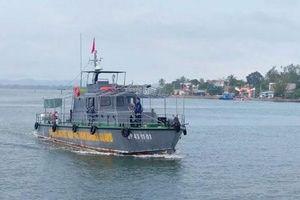 Quảng Nam: Tìm kiếm ngư dân mất tích trên biển