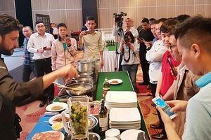 Italia quảng bá văn hóa ẩm thực tại Nha Trang