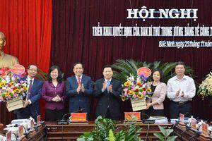 Ban Bí thư quyết định nhân sự chủ chốt tỉnh Bắc Ninh