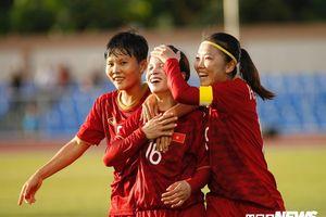 Thủng lưới phút 88, tuyển nữ Việt Nam bị Thái Lan cầm hòa đáng tiếc