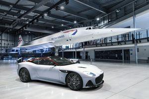 Siêu xe Aston Martin kỷ niệm máy bay siêu thanh Concorde ra mắt