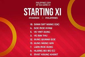 Schrock bất lực trong trận thua của U22 Philippines