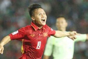 Quang Hải được chờ đợi sẽ lĩnh trọng trách như Neymar